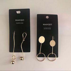 NWT - Set of 2 Mango Earrings!